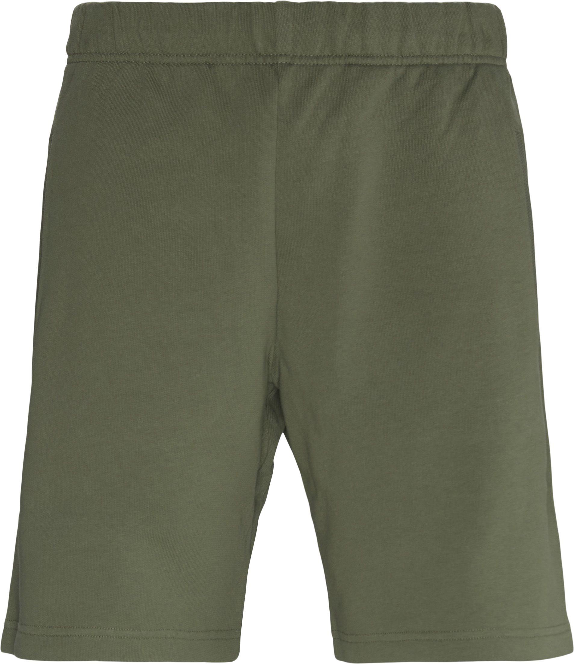 Shorts - Regular fit - Green